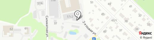 Экоформ на карте Мытищ