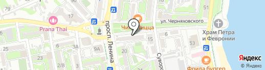 Конструкторы+ на карте Новороссийска