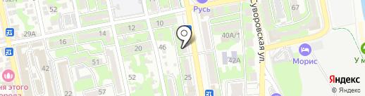 Окна-ЮГ на карте Новороссийска