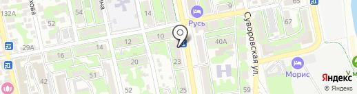 Кубаньлото на карте Новороссийска