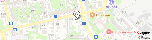 ЭЛЕКТРОНИК на карте Новороссийска