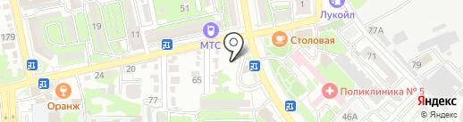 Рассчетно-кассовый центр на карте Новороссийска
