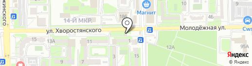 Участковый пункт полиции Южного района на карте Новороссийска