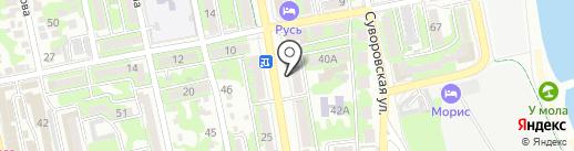 Швейный мир на карте Новороссийска