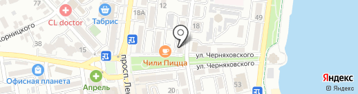 Выставочный зал на карте Новороссийска