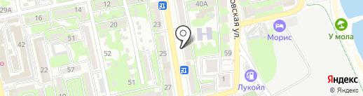Магазин оптики на карте Новороссийска