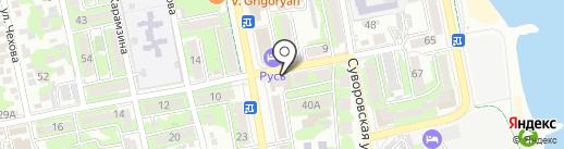 Liberty на карте Новороссийска