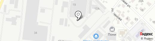 Антик на карте Мытищ