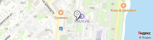 Виадук на карте Новороссийска