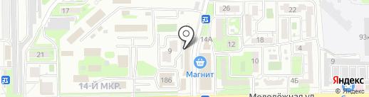 Lunch House на карте Новороссийска