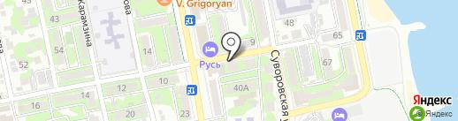 ЛИЛИЯ на карте Новороссийска