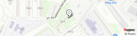Копейка на карте Мытищ