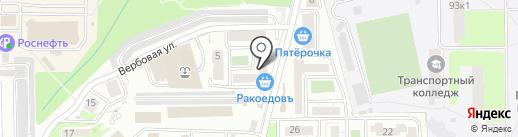 Кивифарм на карте Новороссийска