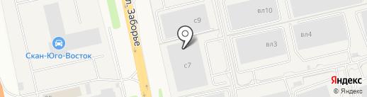Соудал на карте Домодедово