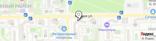 ПИК-Кубань на карте Новороссийска