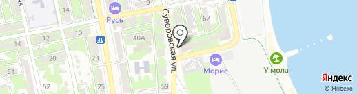 Медовая кладовая Алтая на карте Новороссийска