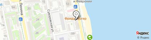Кега-бар на карте Новороссийска