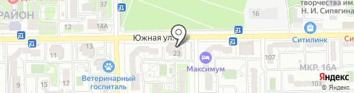 Центр ремонтных услуг на карте Новороссийска