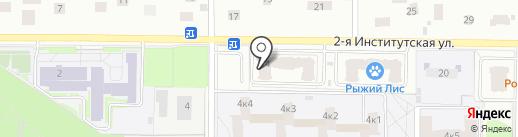 ВатерВенд на карте Мытищ
