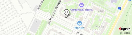РУСАГО на карте Москвы