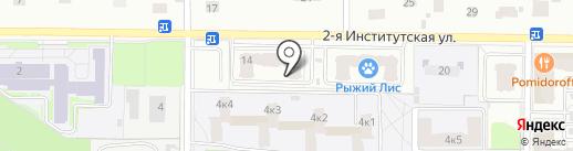 Эмилия на карте Мытищ