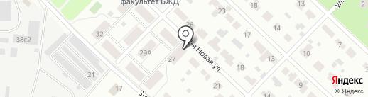 Нас на карте Мытищ