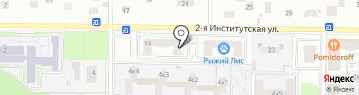 Библиотека №11 на карте Мытищ