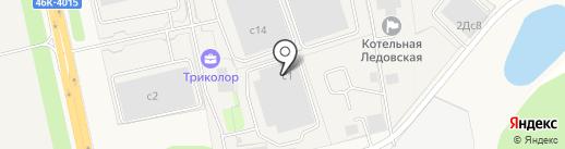 ТРИКОЛОР на карте Домодедово