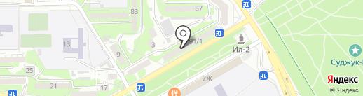Стиль на карте Новороссийска