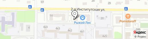 Катя на карте Мытищ