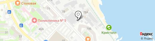 Астраханский агрокомплекс на карте Новороссийска