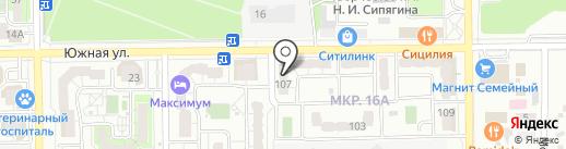 Мини-маркет на карте Новороссийска