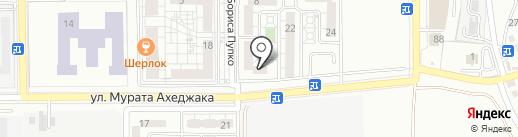Логопедический кабинет Ефременко В.Н. на карте Новороссийска