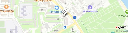 Ракурс на карте Новороссийска