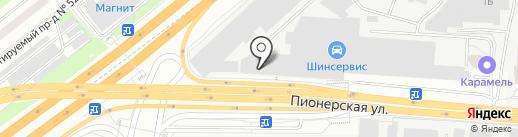 Астрал Дизайн на карте Королёва