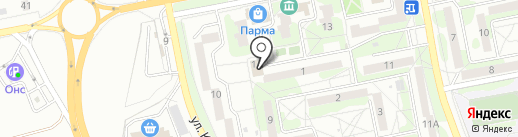 Библиотека №11 на карте Старого Оскола