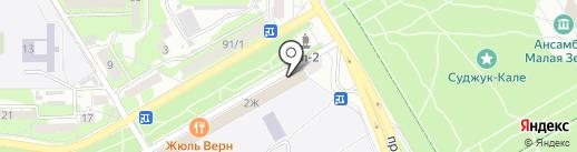 LORENA на карте Новороссийска