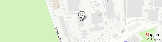 М-газ на карте Королёва