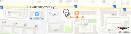 Шарм на карте Мытищ