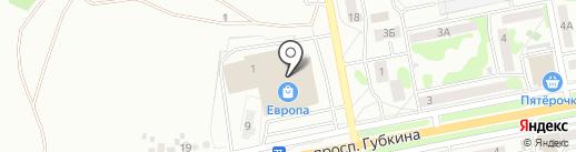 O`Stin на карте Старого Оскола