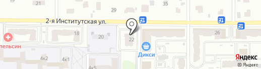 Лаванда на карте Мытищ