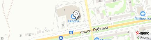 ВИЖИНАРД на карте Старого Оскола
