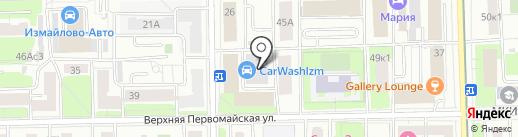 Пескоструй на карте Москвы