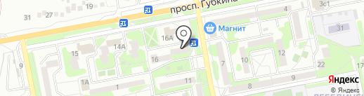 ОсколбанК на карте Старого Оскола