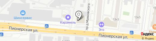 Развитие XXI на карте Королёва