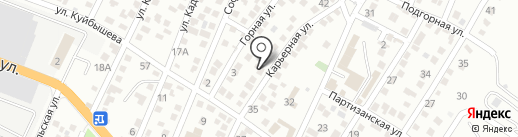 Участковый пункт полиции Восточного района на карте Новороссийска