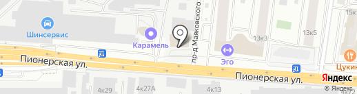 Грузовик на карте Королёва