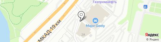 Автомарки на карте Дзержинского