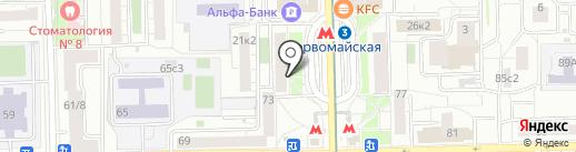 Juicy Nails на карте Москвы