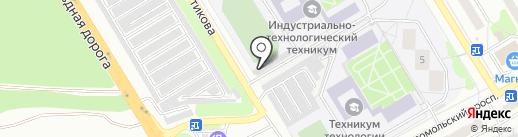 Инжектор-центр на карте Старого Оскола